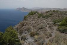Calblanque, Monte de las Cenizas y Peña del Águila